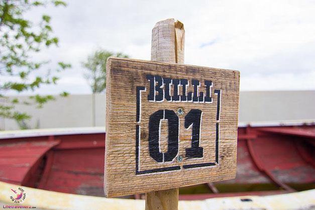 Bulli Stellplatz in der Bretterbude