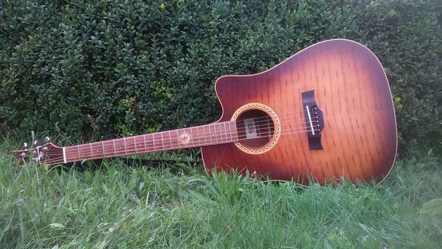 Eine Gitarre von Siegi Wilke