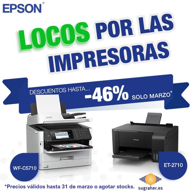 Oferta impresoras Epson
