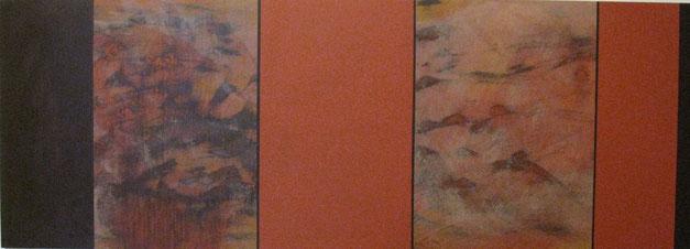 Nr. 2007-HO-008: 140 x 50 cm, Acryl auf MDF