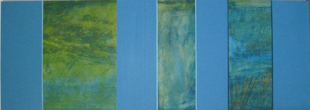 Nr. 2010-HO-005: 140 x 50 cm, Acryl auf MDF