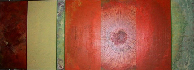 Nr. 2005-HO-006: 140 x 50 cm; Acryl auf MDF