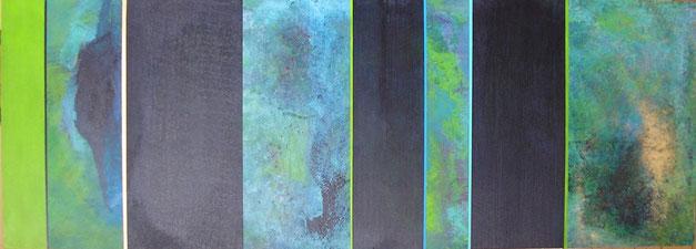 Nr. 2007-HO-005: 140 x 50 cm, Acryl auf MDF