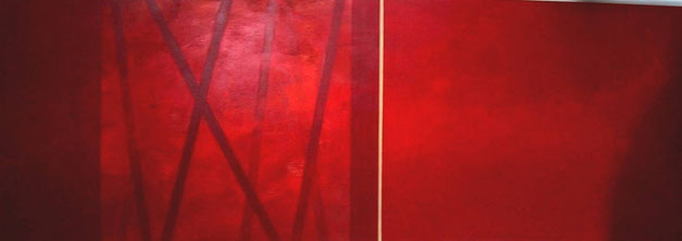 Nr. 2004-HO-005: 140 x 50 cm, Acryl auf MDF, Crossover