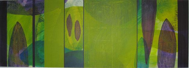 Nr. 2008-HO-004: 140 x 50 cm, Acryl auf MDF