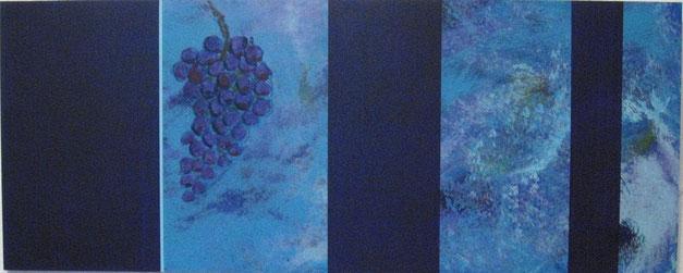 Nr. 2006-HO-014: 100 x 40 cm, Acryl auf MDF
