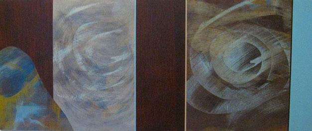 Nr. 2007-HO-011: 120 x 50 cm, Acryl auf MDF