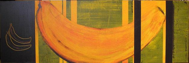 Nr. 2007-HO-003: 120 x 40 cm, Acryl auf MDF