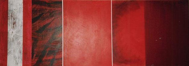Nr. 2004-HO-001: 140 x 50 cm, Acryl auf MDF