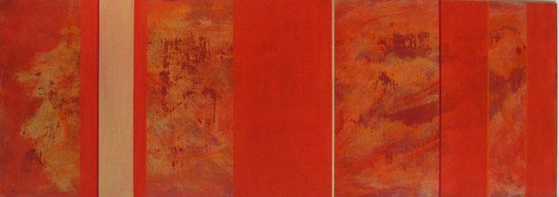 Nr. 2005-HO-007: 140 x 50 cm, Acryl auf MDF