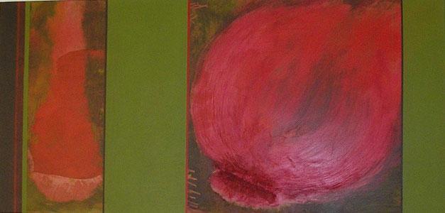 Nr. 2007-HO-013: 115 x 50 cm, Acryl auf MDF