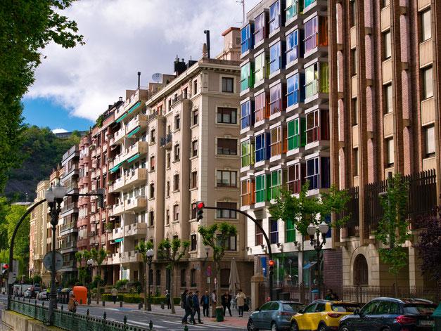 Paseo Campo de Volantín, Bilbao