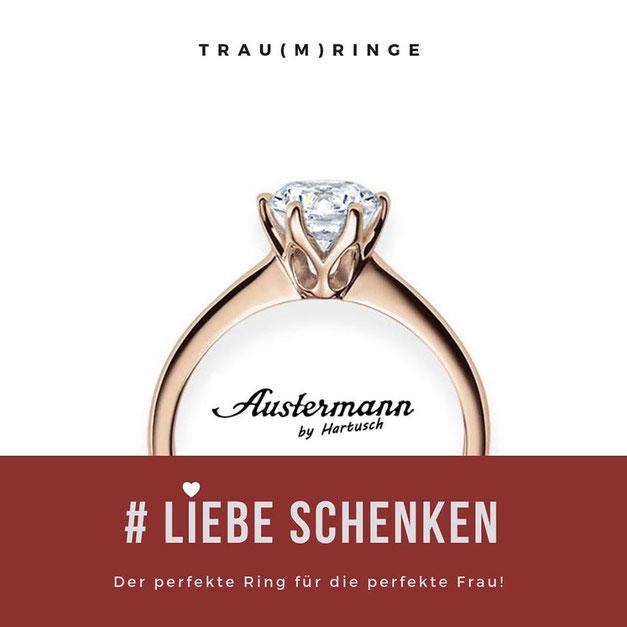Verlobungsring in Düsseldorf kaufen Juwelier Austerman
