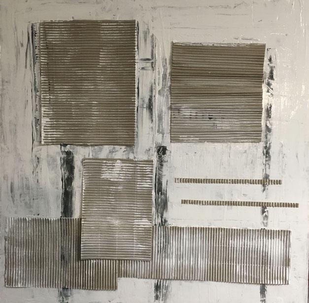 # 191-2021-02-W18 - Acryl-Pappe-Leinwand - 70x70 cm