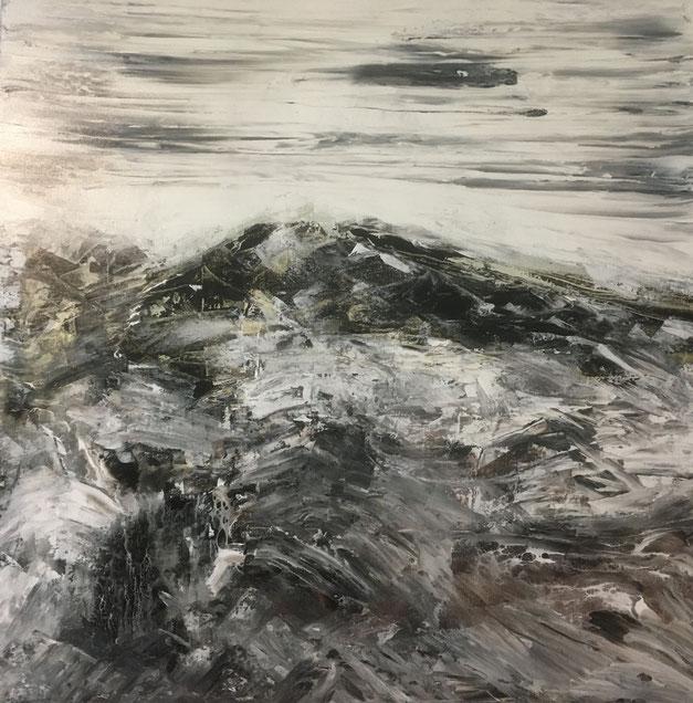 # 181-2020-12-BE02 - Acryl auf Leinwand - 70x70 cm