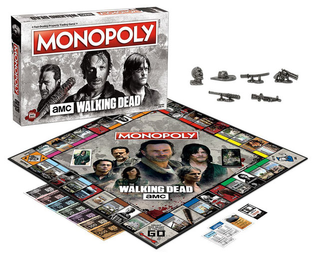 Monopoly The Walking Dead AMC