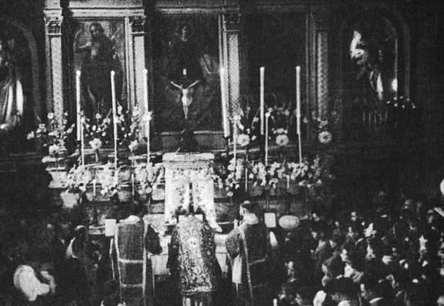 Messa di Padre Pio 16 luglio 1933