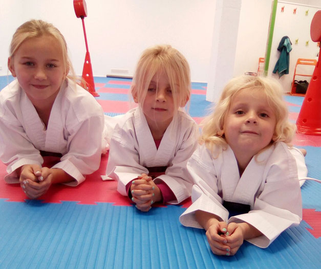 Karate mit Kindern ab 4 Jahren
