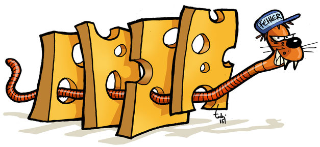 Käsescheiben-Modell nach Reason (Auszug aus unserer Präsentation)