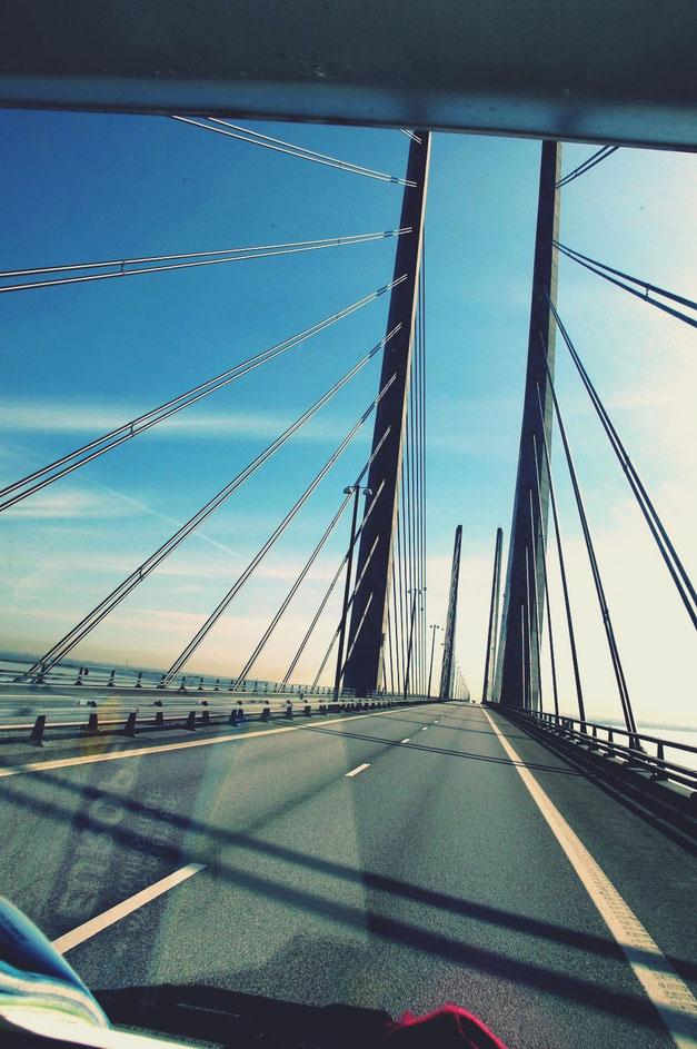bigousteppes suède route pont oresund malmo