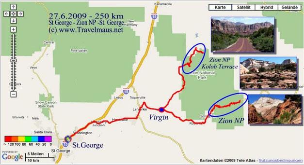 27.6.2009 Saint George - Saint George  250 km