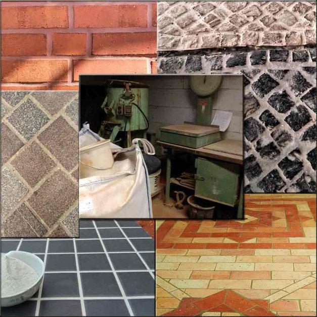 Fugenmortel ohnen chemische Zusätze kann für schmale oder auch breite Fugen sowie im Innen- als auch im Außenbereich aber auch für Mauerwerksfugen als günstige Fugenmasse verarbeitet werden