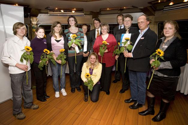 Innovationspreis der Bundesarbeitsgemeinschaft der Freiwilligenagenturen (bagfa) 2008 - Foto: Jann Wilken - Freiwilligen-Zentrum Augsburg