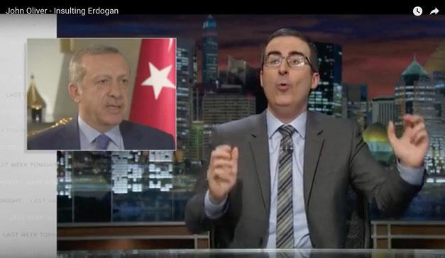 John Oliver über Erdogan