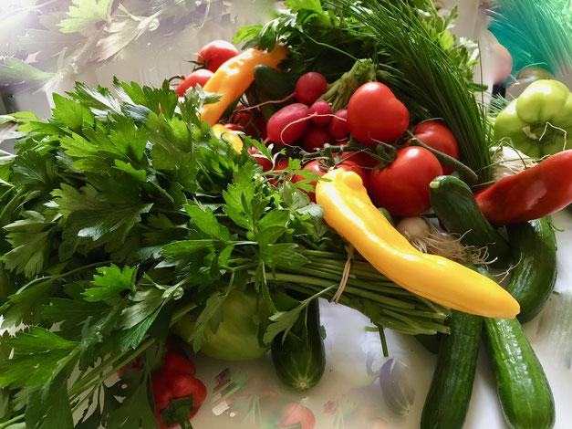 Wocheneinkauf Gemüse