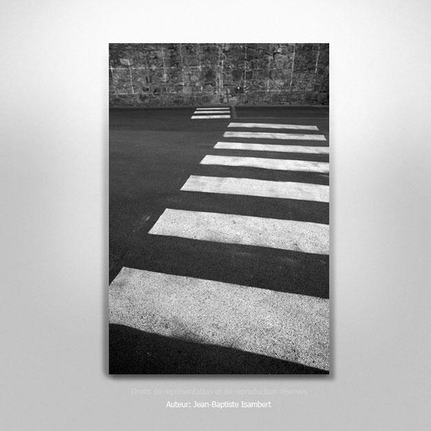 """""""Passage piéton"""", 5 exemplaires. Tirage seul 30x45 cm. 250€."""