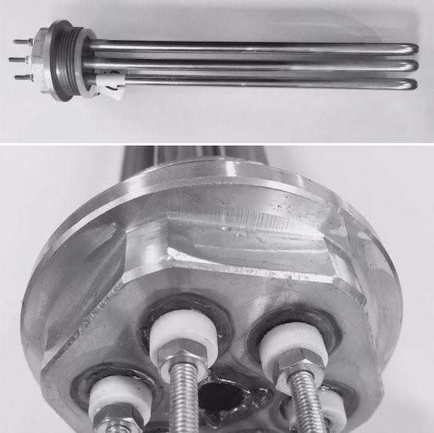 resistenze corazzate tubolari per acqua lorenzoni