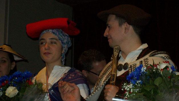 Anaïs et son cavalier