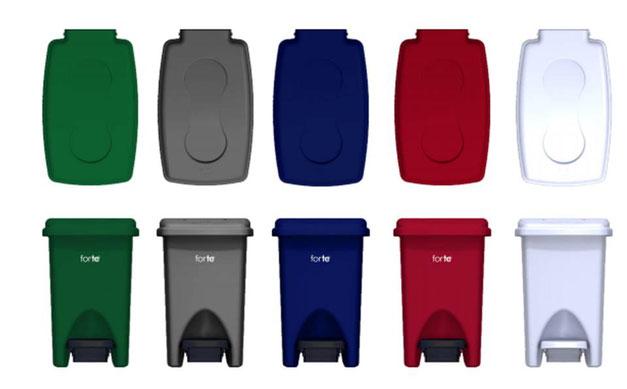 -1033171 Papelera de Pedal 10 litros Verde -1033172 Papelera de Pedal 10 litros Gris -1033173 Papelera de Pedal 10 litros Azul Noche -1033174 Papelera de Pedal 10 litros Rojo -1002050 Papelera de Pedal 10 litros Blanco-