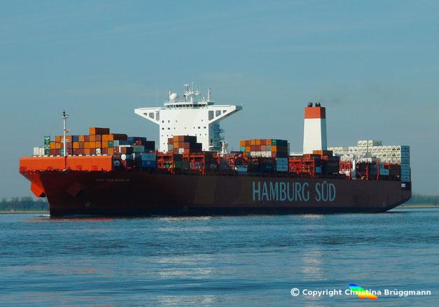 CAP SAN NICOLAS der  von Maersk übernommenden Reederei Hamburg Süd