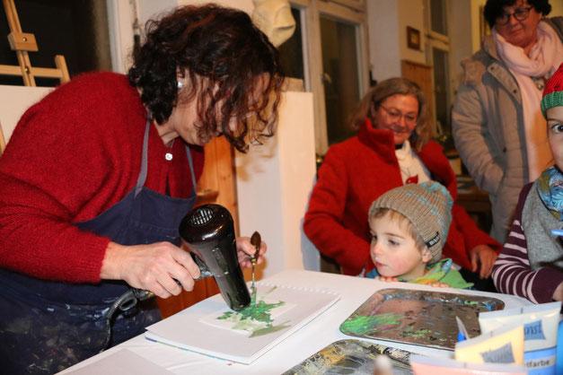Arthaus-Zwiefalten Gauingen Rathaus Schulhaus Kunstschule Kurse Malerei Kalligrafie Kalligraphie Bildhauerei Skulptur
