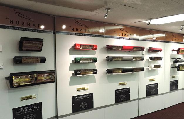 In unserer Ausstellung können Sie sich beraten lassen, alle Heizstrahler in Ruhe testen und sich persönlich von der Qualität unserer Produkte überzeugen