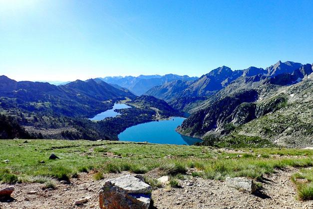 Et côté Néouvielle, les lacs d'Aumar et d'Aubert.