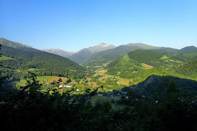 La Vallée de Lesponne avec au bout le Montaigu.