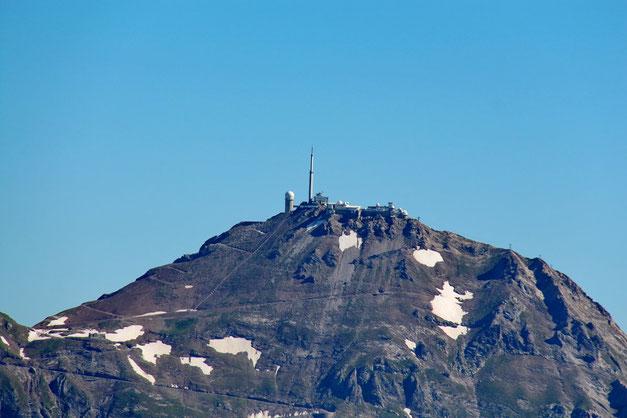 Au zoom, le Pic du Midi.