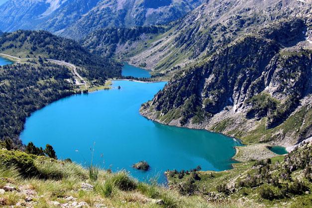 Et le Lac d'Aubert.