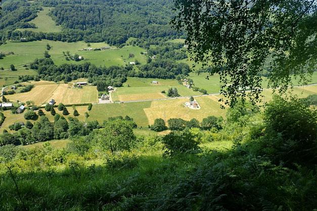 Avec vue sur la Vallée de l'Adour.