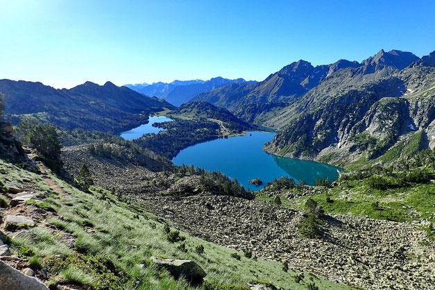 Les deux lacs sont superbes!