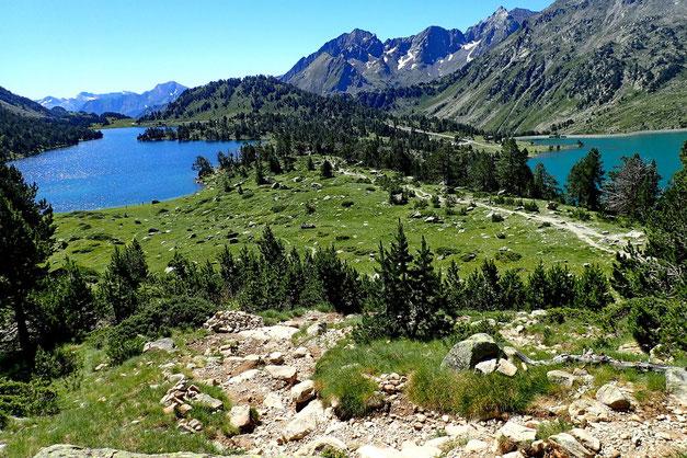 Le Lac d'Aumar.