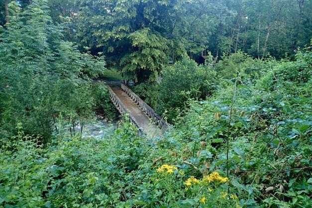 Vue sur le pont de l'Adour.
