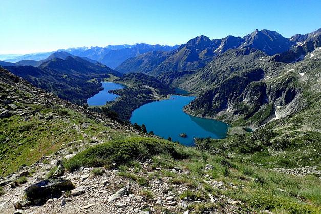 Côté Sud, Les lacs d'Aumar de d'Aubert.