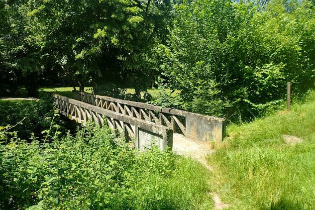 Et le petit pont sur l'Adour, indiquant la fin de cette rando.