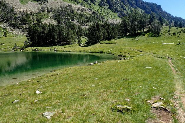 L'extrémité Sud du lac.