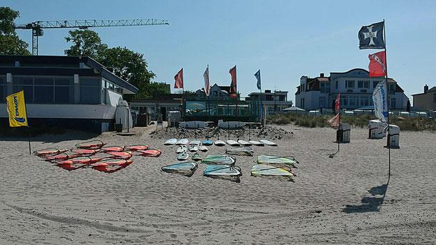 Surfen, SUP, Lübecker Bucht Niendorf Ostsee, Scharbeutz,Ostsee
