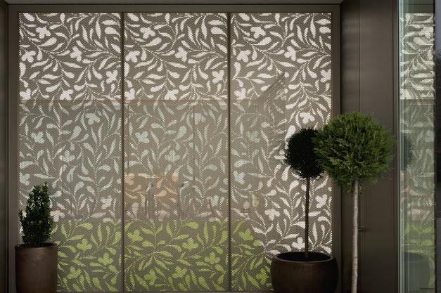 Sichtschutz Privatsphare Design Zugleich Sline Lochblechdesign