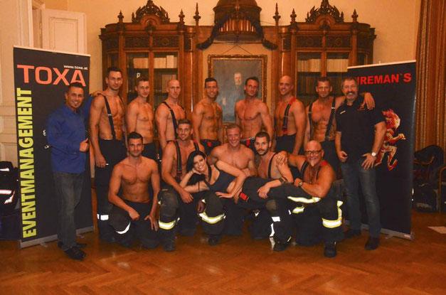 Feuerwehrkalender Präsentation TOXA